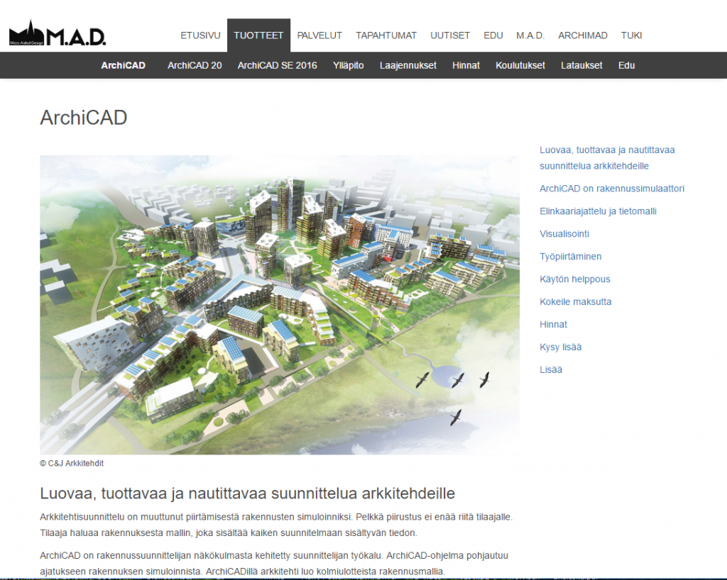 Archicad software Finland