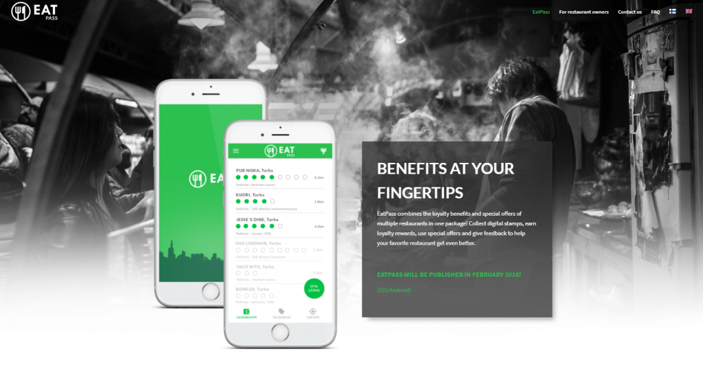 Eatandthecity Goes For Loyalty Apps Eatpass Take Stamp